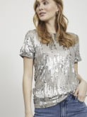 Silver/Sequins